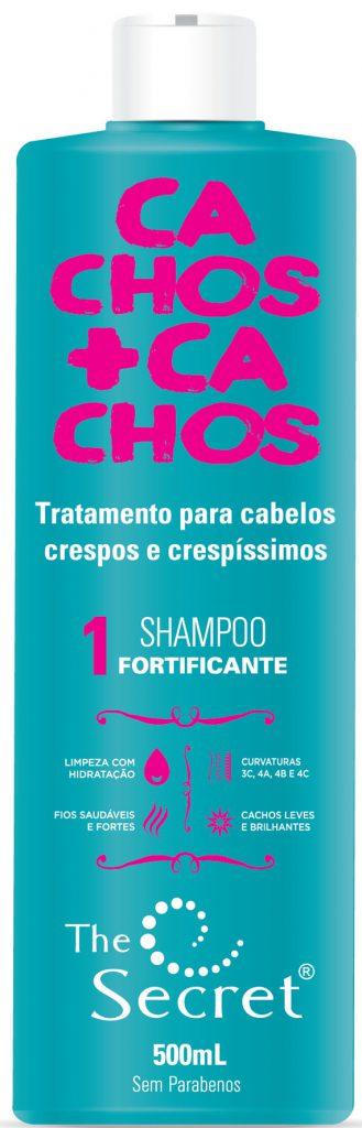 shampoo the secret cachos