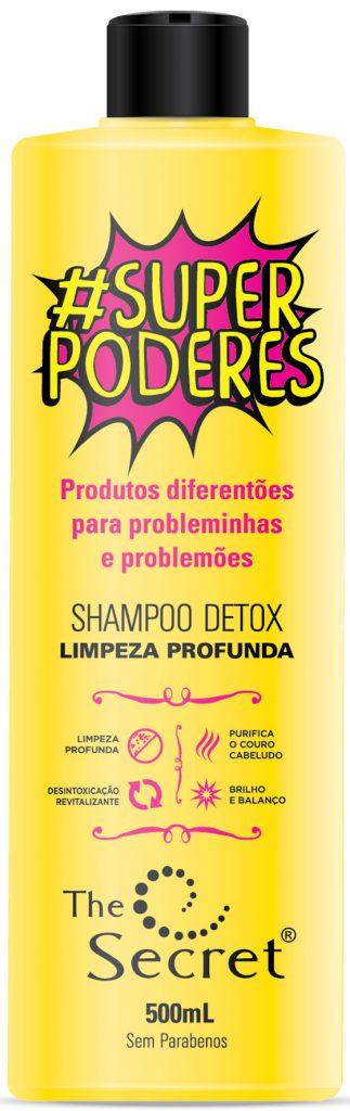 Shampoo Detox da linha #SuperPoderes daTheSecret