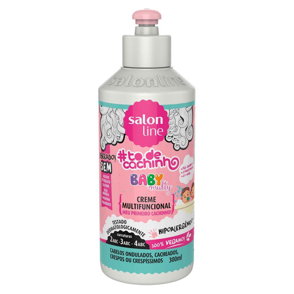 produto para cabelo cacheado infantil